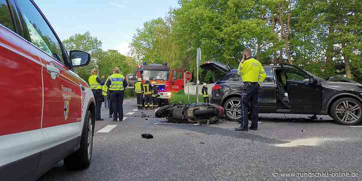 Unfall in Swisttal-Buschhoven: Motorradfahrer schwer verletzt – Autofahrer flüchtet - Kölnische Rundschau