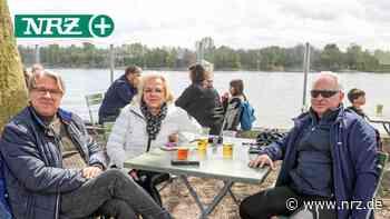 Voerde: Gäste genießen kühle Getränke und den Rheinblick - NRZ News