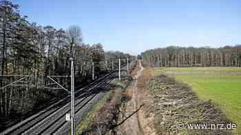 Bahn-Vollsperrung zwischen Voerde und Dinslaken an Pfingsten - NRZ