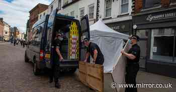 Fred West police begin digging up cafe and removing items in missing girl search