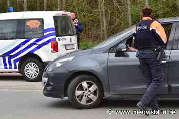 Politie klist zes chauffeurs tijdens controleactie