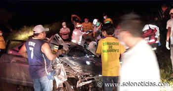Al menos 10 lesionados tras fuerte accidente en carretera a Quezaltepeque - Solo Noticias