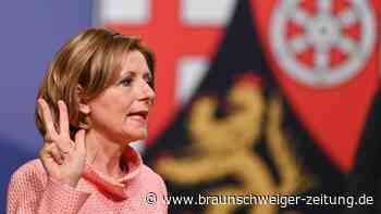 Rheinland-Pfalz: Malu Dreyer zum dritten Mal zur Ministerpräsidentin gewählt