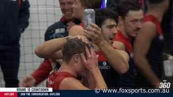 'A bit too far': Dees star explains how team addressed bizarre post-game milk shower