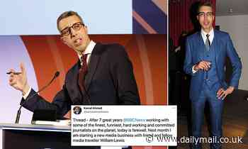 Editorial chief Kamal Ahmed leaves the BBC and announces 'trusted and objective' news start-up