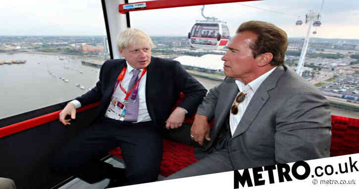 Terminator turned governor Arnold Schwarzenegger calls Boris Johnson 'the real deal'