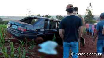 Homem morre após capotar carro em estrada rural, entre Porecatu e Florestópolis - RIC Mais