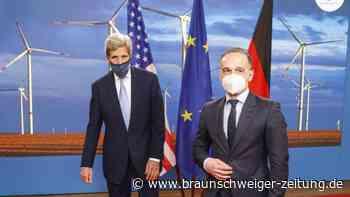 Besuch in Berlin: John Kerry: Klima-Beratungen mit deutschen Politikern