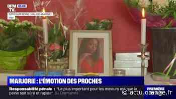 Adolescente tuée à Ivry-sur-Seine: l'émotion des proches et des camarades de classe de Marjorie - Actu Orange