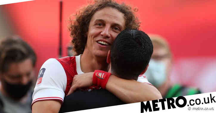 Mikel Arteta left saddened by David Luiz's decision to leave Arsenal