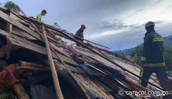 Dos personas desaparecidas por avalancha en Aranzazu - Caracol Radio