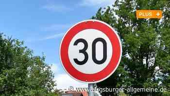 Zone 30 und Tempo 30: Was gilt nun wo in Mertingen? - Augsburger Allgemeine