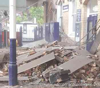 Disruption to trains as roof collapses at Northwich Station