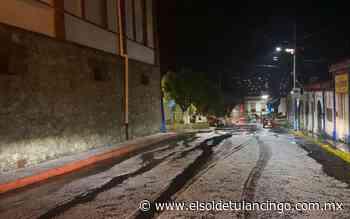 Fuerte granizada y aguacero cayó anoche en Tepeji - El Sol de Tulancingo