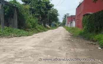 Limites de Huixtla con Tuzantán sin alumbrado público - El Heraldo de Chiapas
