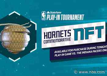 Hornets to Launch 2nd Commemorative Ticket NFT for Tonight's State Farm Play-In Tournament Game