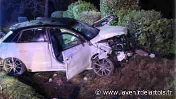 Harnes: un automobiliste grièvement blessé après avoir percuté un pylône électrique - L'Avenir de l'Artois