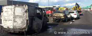 Incidente sulla A4 nel tratto di Agrate Brianza, un furgone prende fuoco: tre feriti lievi, code verso Brescia - Il Cittadino di Monza e Brianza