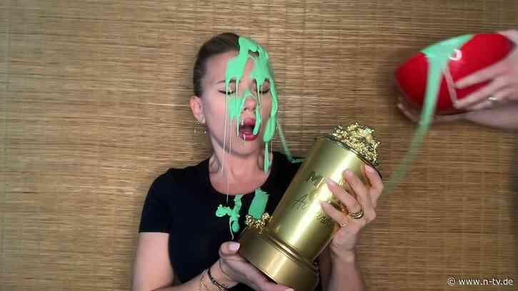 MTV Movie & TV Awards verliehen:Böse Überraschung für Scarlett Johansson - n-tv NACHRICHTEN