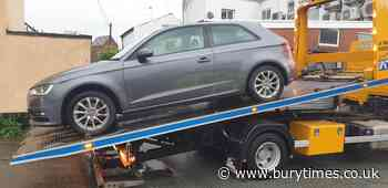 Car seized after driver had no tax, insurance or MOT - Bury Times