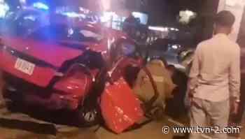 Accidente de tránsito en Nuevo Arraiján deja una víctima fatal - TVN Panamá