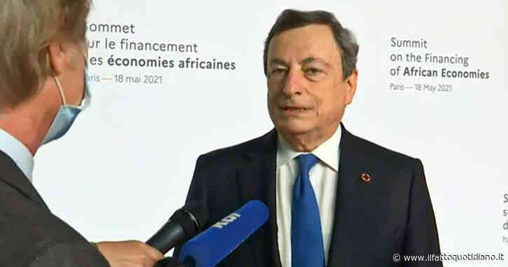 """Draghi: """"Allentamento misure? Grazie a vaccini e rispetto delle regole, il Covid ci ha dato lezioni tremende"""""""