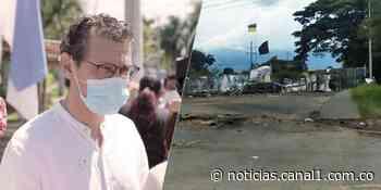 De forma pacífica levantan 13 de las 14 barricadas instaladas en Jamundí - Canal 1