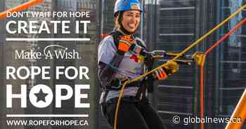 Make-A-Wish Canada: Rope for Hope, supported by Global Calgary and 770 CHQR