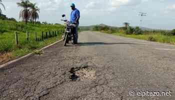 Portuguesa   Autoridades reportan hundimiento de la vía Guanare y Boconoíto - El Pitazo