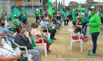 Propone Cynthia Pérez Suero trabajo coordinado con vecinos de Loma Bonita en Chamilpa - David Monroy Digital