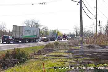 Motorcyclist hospitalized after crash near North Bay - The Sudbury Star