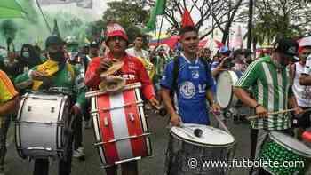 Las barras de varios equipos se unieron en Villavicencio - Futbolete