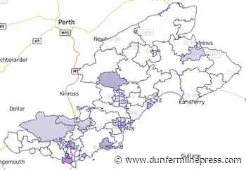 Coronavirus: Public Health Scotland map records Dunfermline and West Fife's COVID-19 hotspots - Dunfermline Press
