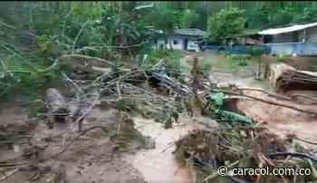 Vendaval deja familias y cultivos afectados zona rural de Riofrío - Caracol Radio