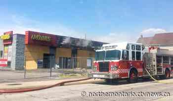 'Suspicious' fire closes roadway at Midas building in North Bay - CTV Toronto
