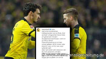 EM 2021: Hummels fährt wohl mit - überraschendes Statement von Reus sorgt bei Fans für Entsetzen
