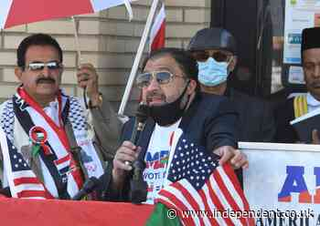 Arab Americans in Michigan protest Biden's visit over US support for Israel
