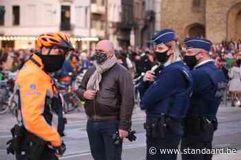 Scherpe kritiek op massa feestvierders Elsene (Brussel) - De Standaard