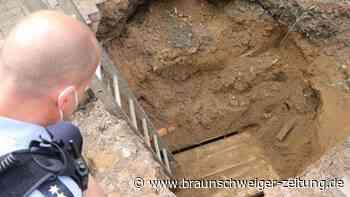 Kriminalität: Bauarbeiter entdecken Einbrecher-Tunnel zu einer Bank