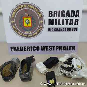 Menor de idade é apreendido por tráfico de drogas em Frederico Westphalen - Rádio Progresso de Ijuí