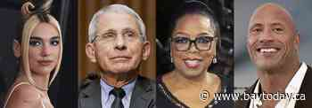Webby Awards go to Fauci, Oprah, DuVernay and Pharrell