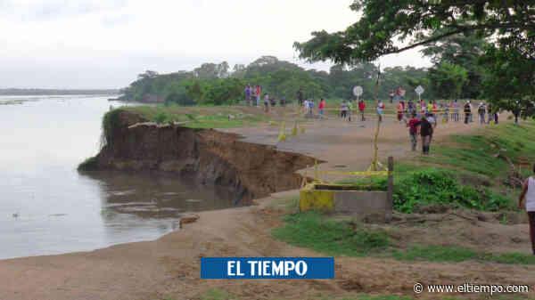 Denuncia sobre robo en obras para contener erosión en Salamina - El Tiempo