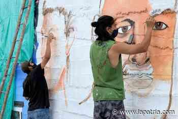Dos nuevos murales en Salamina - La Patria.com