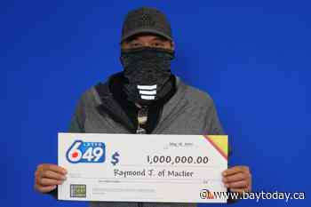 Mactier man promises to buy his wife a boat after big lottery win