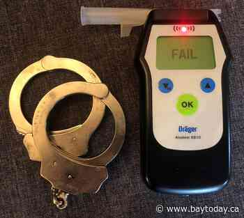 Impaired driver also charged with breaking COVID rules