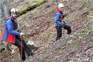 Sicherheit am Plettenberg: DRK-Bergwacht Zollernalb räumt in Dotternhausen Felsen aus dem Weg - Zollern-Alb-Kurier
