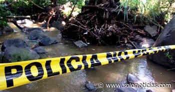 Localizan cadáver de joven en río Agua Caliente, en Ciudad Arce - Solo Noticias