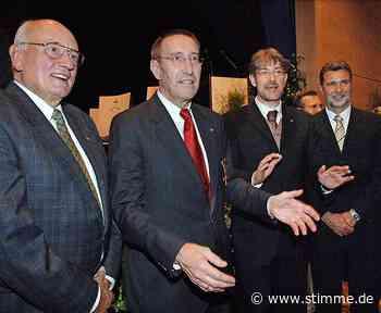 Alt-Landrat erinnert sich an den Wahlkrimi von Weinsberg - STIMME.de - Heilbronner Stimme