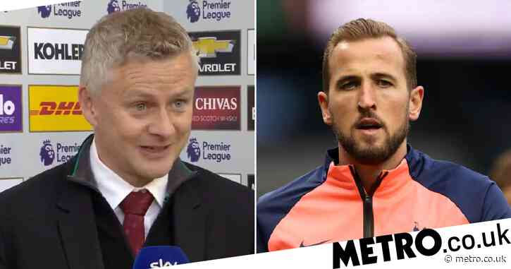Manchester United boss Ole Gunnar Solskjaer opens door to Harry Kane transfer despite Edinson Cavani extension