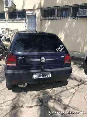 Veículo furtado é recuperado em Jacobina - Voz da Bahia